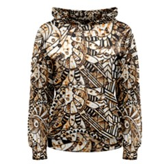 Zentangle Mix 1216c Women s Pullover Hoodie