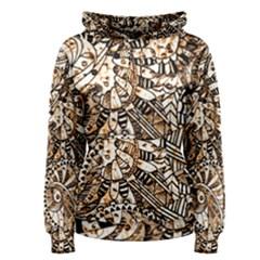 Zentangle Mix 1216c Women s Pullover Hoodie
