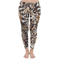 Zentangle Mix 1216c Classic Winter Leggings
