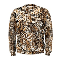 Zentangle Mix 1216c Men s Sweatshirt