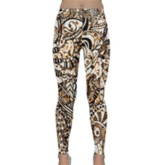Zentangle Mix 1216c Classic Yoga Leggings