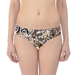 Zentangle Mix 1216c Hipster Bikini Bottoms