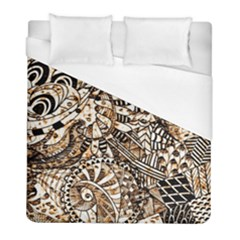 Zentangle Mix 1216c Duvet Cover (Full/ Double Size)