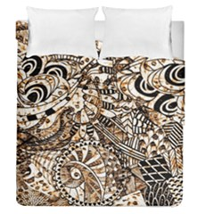 Zentangle Mix 1216c Duvet Cover Double Side (Queen Size)