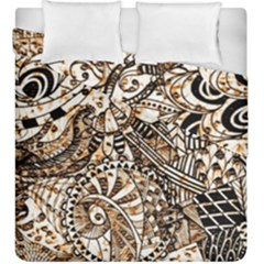 Zentangle Mix 1216c Duvet Cover Double Side (King Size)