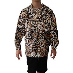 Zentangle Mix 1216c Hooded Wind Breaker (Kids)