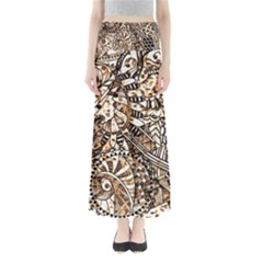 Zentangle Mix 1216c Maxi Skirts