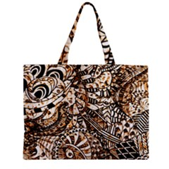 Zentangle Mix 1216c Medium Tote Bag