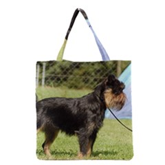 Brussels Griffon Full  Grocery Tote Bag