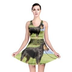 Brussels Griffon Full  Reversible Skater Dress
