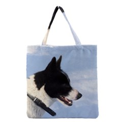 Karelian Bear Dog Grocery Tote Bag