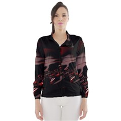 Fractal Mathematics Abstract Wind Breaker (Women)
