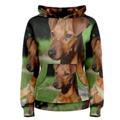 Min Pin On Gate  Women s Pullover Hoodie