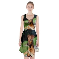Min Pin On Gate  Racerback Midi Dress