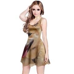 4 Shiba Inu Reversible Sleeveless Dress