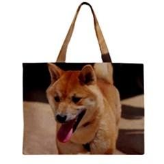 4 Shiba Inu Zipper Mini Tote Bag