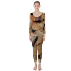 4 Shiba Inu Long Sleeve Catsuit