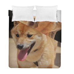 4 Shiba Inu Duvet Cover Double Side (Full/ Double Size)