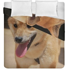 4 Shiba Inu Duvet Cover Double Side (King Size)