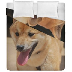4 Shiba Inu Duvet Cover Double Side (California King Size)