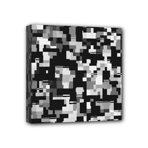 Noise Texture Graphics Generated Mini Canvas 4  x 4