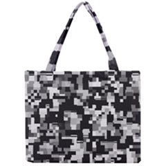 Noise Texture Graphics Generated Mini Tote Bag