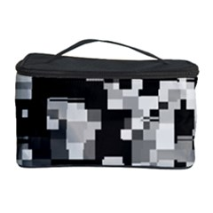 Noise Texture Graphics Generated Cosmetic Storage Case
