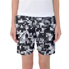 Noise Texture Graphics Generated Women s Basketball Shorts