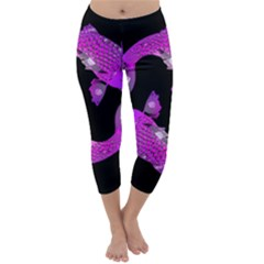 Koi Carp Fish Water Japanese Pond Capri Winter Leggings