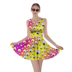 Happy And Merry Music Skater Dress