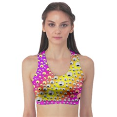 Happy And Merry Music Sports Bra