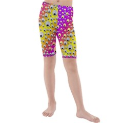 Happy And Merry Music Kids  Mid Length Swim Shorts