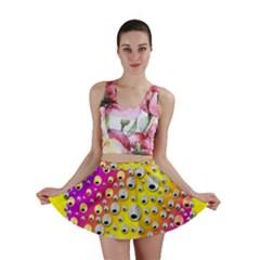 Happy And Merry Music Mini Skirt