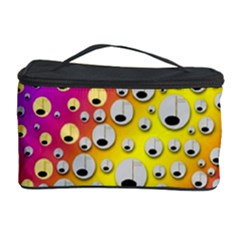 Happy And Merry Music Cosmetic Storage Case