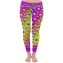 Happy And Merry Music Classic Winter Leggings