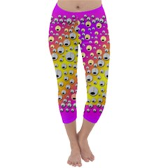 Happy And Merry Music Capri Winter Leggings