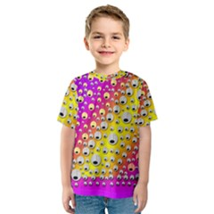 Happy And Merry Music Kids  Sport Mesh Tee