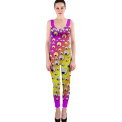 Happy And Merry Music OnePiece Catsuit