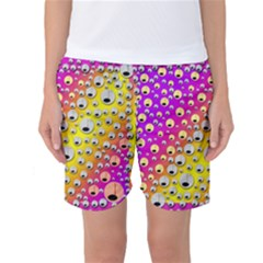 Happy And Merry Music Women s Basketball Shorts
