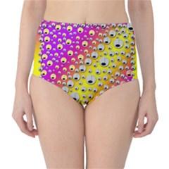 Happy And Merry Music High-Waist Bikini Bottoms