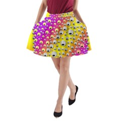 Happy And Merry Music A-Line Pocket Skirt