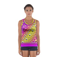 Happy And Merry Music Women s Sport Tank Top