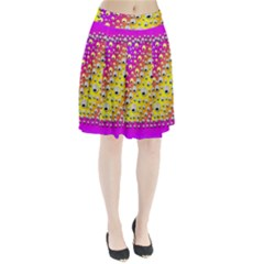 Happy And Merry Music Pleated Skirt