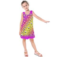 Happy And Merry Music Kids  Sleeveless Dress