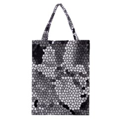 Mosaic Stones Glass Pattern Classic Tote Bag