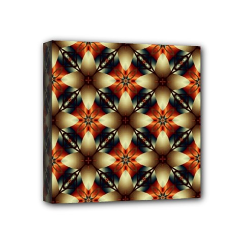 Kaleidoscope Image Background Mini Canvas 4  x 4