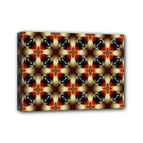 Kaleidoscope Image Background Mini Canvas 7  x 5