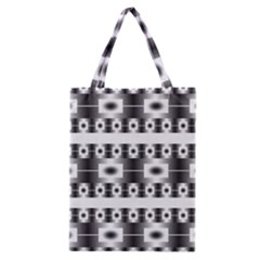 Pattern Background Texture Black Classic Tote Bag