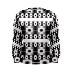 Pattern Background Texture Black Women s Sweatshirt