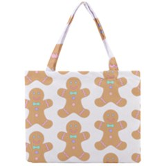 Pattern Christmas Biscuits Pastries Mini Tote Bag